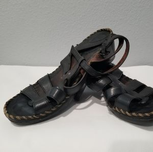 Ariat Leather Size 7.5 Strappy Slingback Sandals